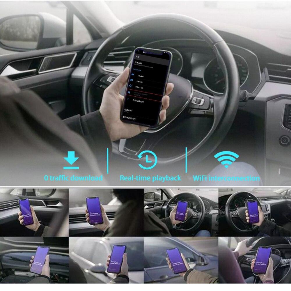 Mini Hidden 1080p Full HD Vehicle DVR Car Dash Cam WiFi Camera 170 Degree Wireless Mobile Phone Interconnection Auto Registrator