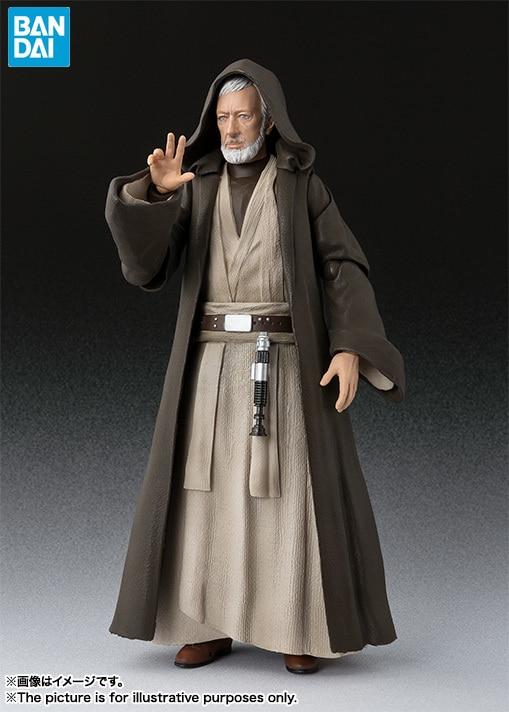 Bandai star wars alt Ben Kenobi Jedi Ritter Action-figur Sammlung spielzeug für weihnachten geschenk
