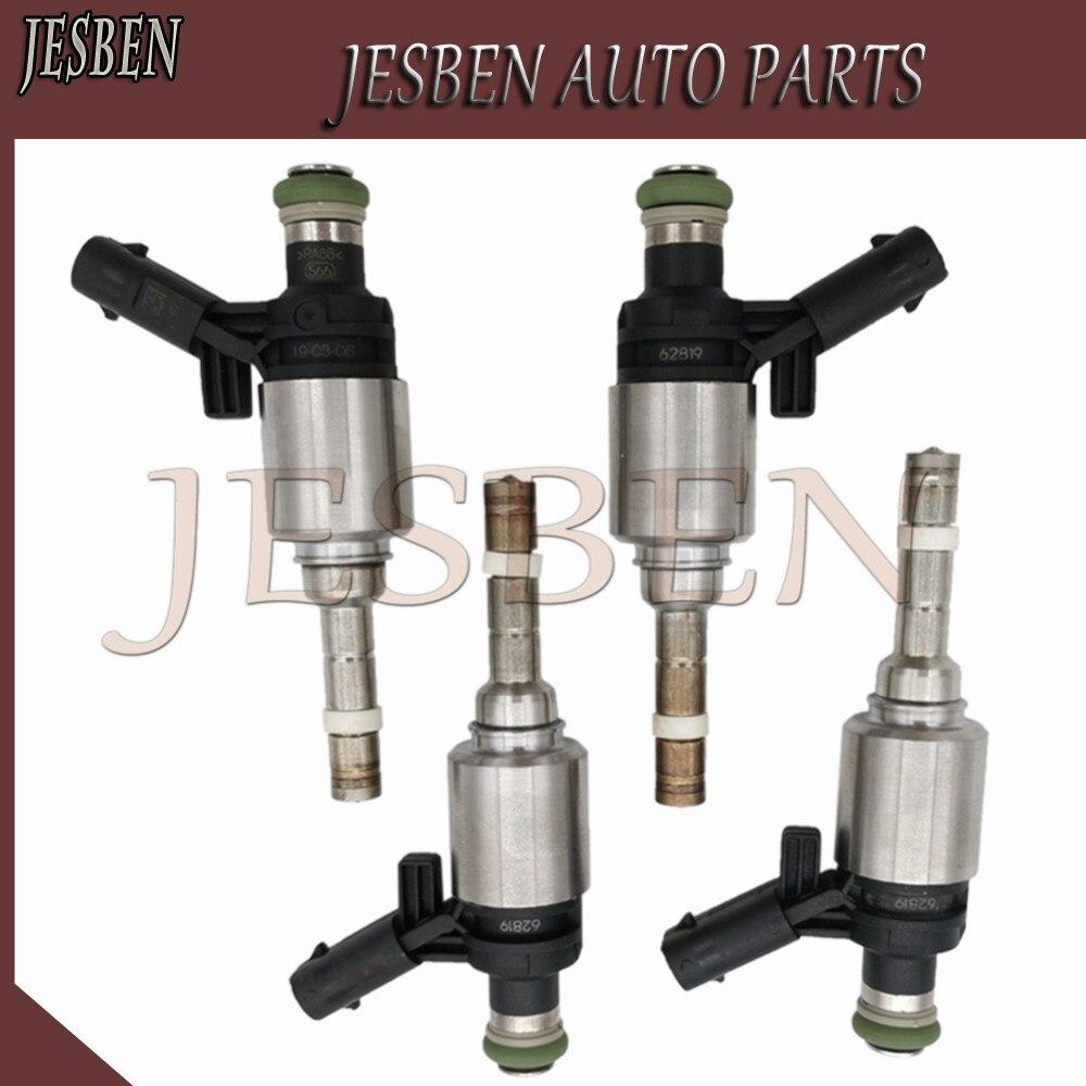4 Uds 06H906036G inyector de combustible apto para VW AMAROK escarabajo Passat CC Jetta Golf Metaway Tiguan EOS transportador 2,0 TSI 2004-2019