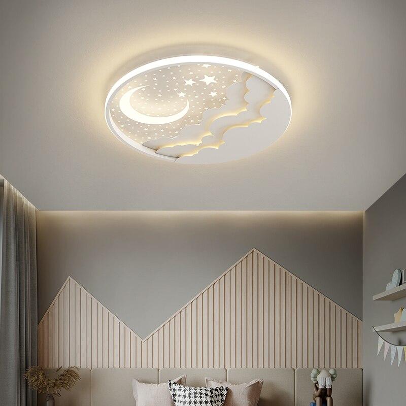 Светодиодный ные потолочные люстры круглой формы, близко к потолочной лампе, из железа и акрила, дистанционное управление для люстры