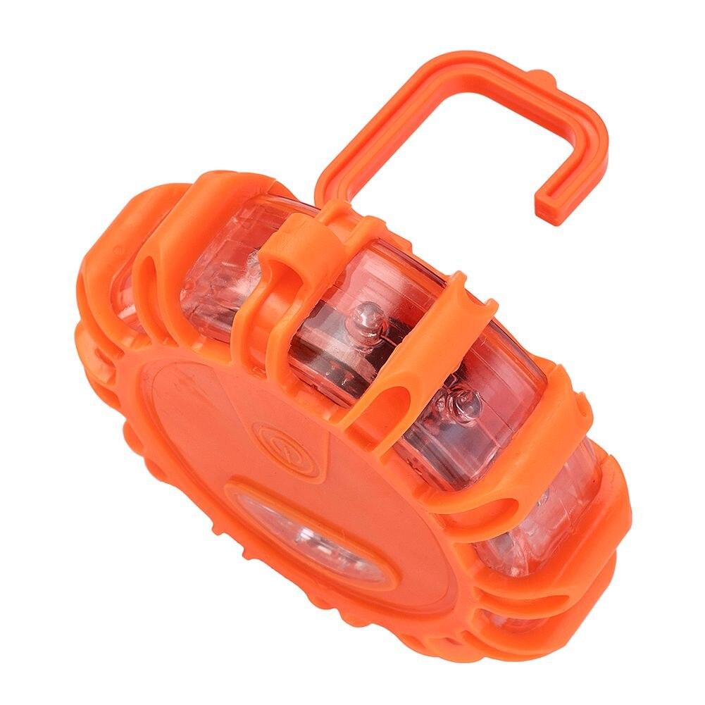 Магнитный аварийный дорожный спасательный стробоскоп, предупреждающие огни, дорожный маячок, фонарик, лампа, яркий комплект, оранжевый