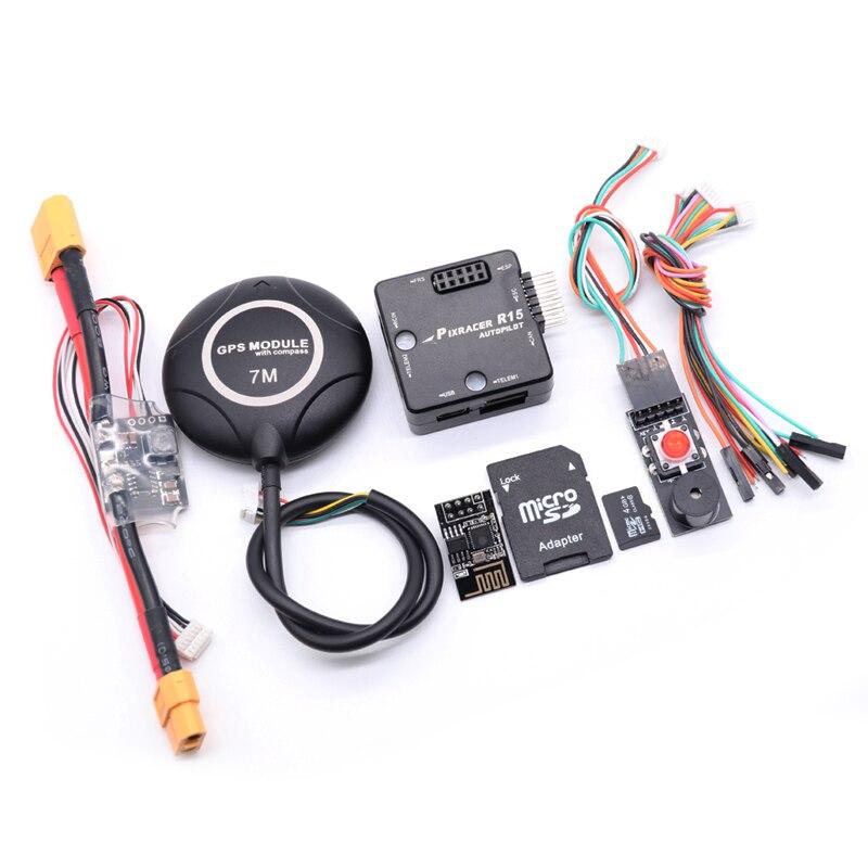 Pixracer R15 Autopilot xracer PX4 Pixhawk Flight Controller +7M GPS  Drone Quadcopter Multicopter enlarge