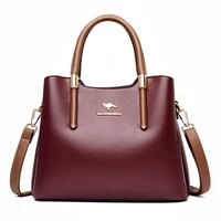 weysfor leather casual crossbody bags for women 2020 ladies luxury tote handbag top handle high quality shoulder bag sac a main