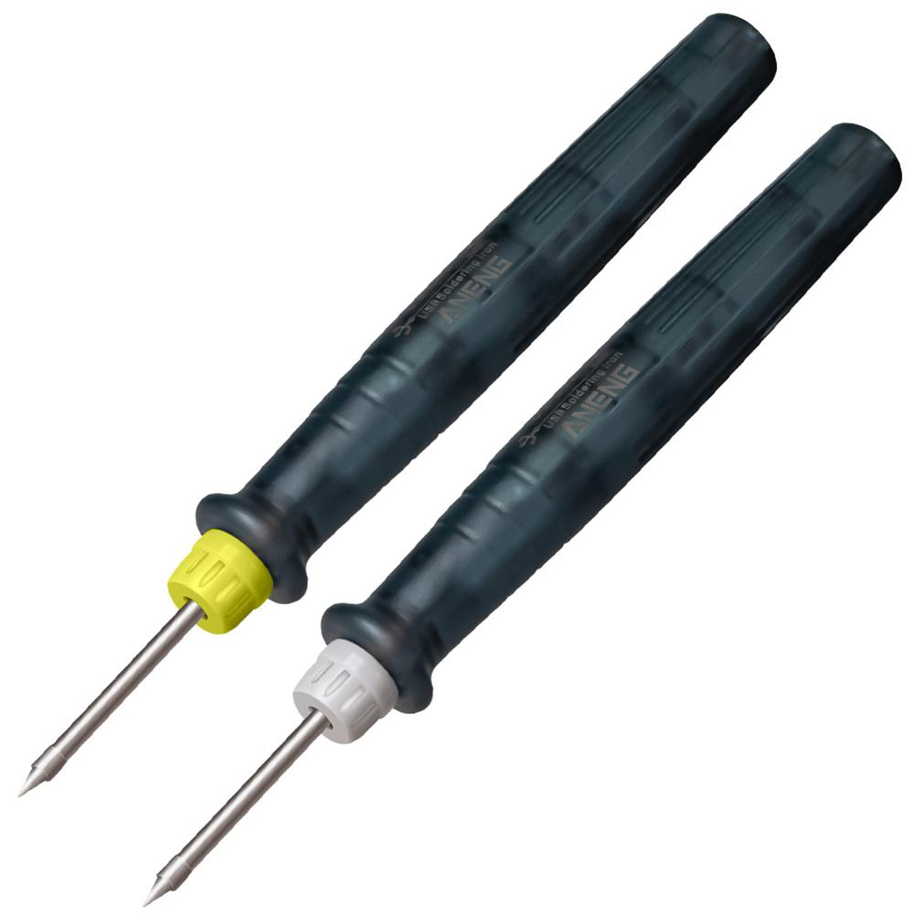 Мини портативный Электрический паяльник ANENG LT002, 5 В, 8 Вт, USB, ручка/наконечник, сенсорный переключатель, регулируемый паяльник, инструменты