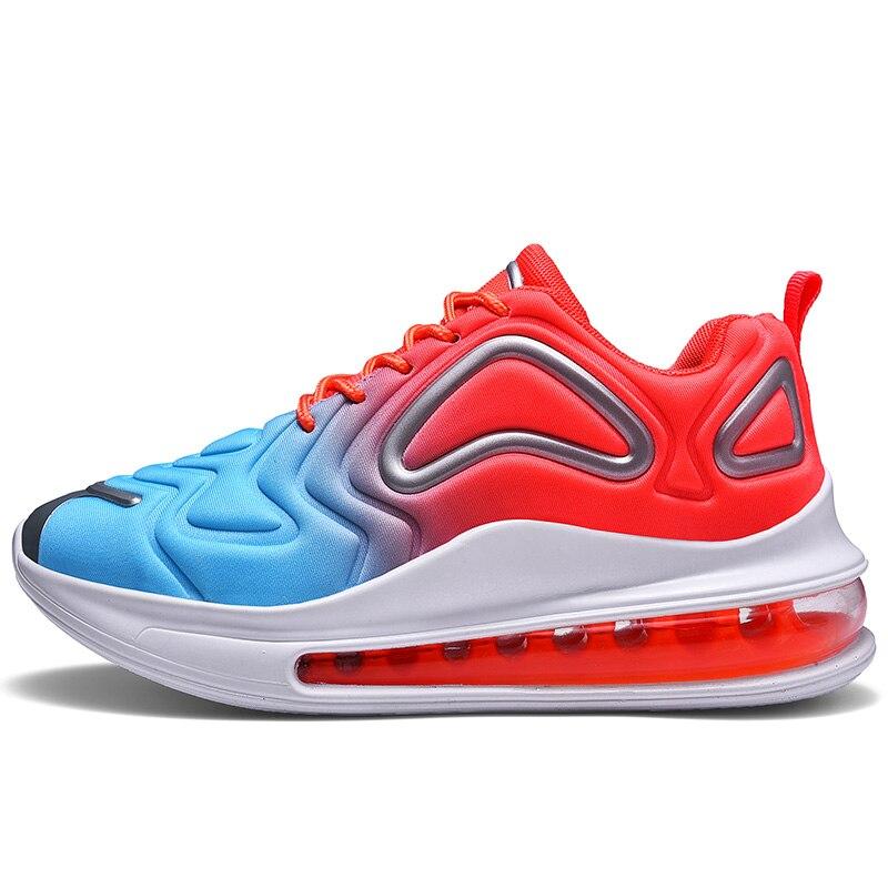 Zapatos deportivos para mujer, zapatillas ligeras para correr para hombre, zapatillas deportivas con plataforma de amortiguación Unisex, zapatos atléticos de entrenamiento de gimnasia para mujer con estilo 2020