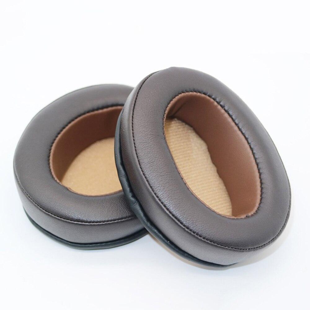 Almohadillas de almohadillas de repuesto para Sennheiser Momentum 1,0/2,0 auriculares inalámbricos Bluetooth funda de cojín tazas marrón claro