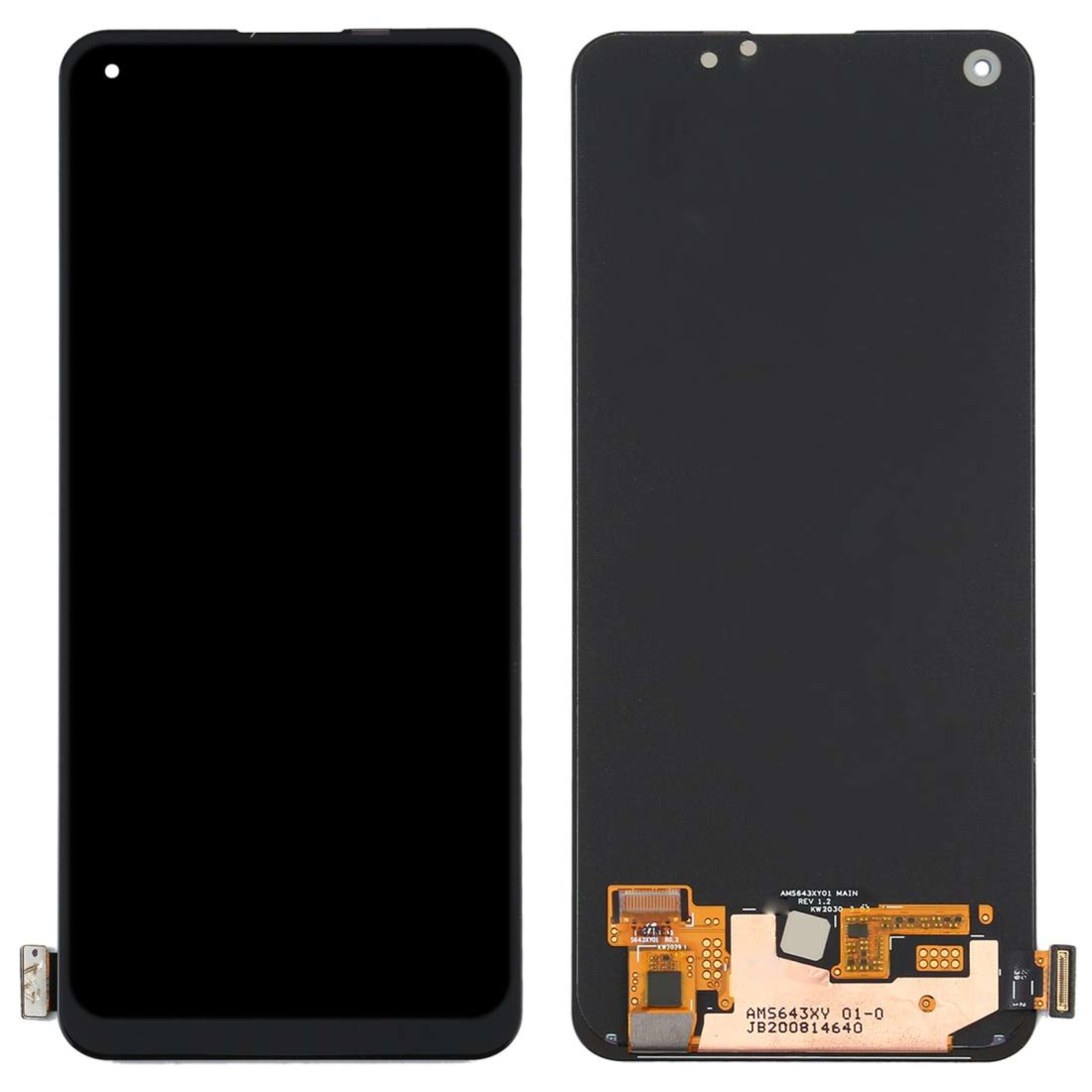 Original Super AMOLED Display For Realme 7 Pro RMX2170 LCD Display Screen Touch Digitizer Fingerprint Scanner With Screen enlarge
