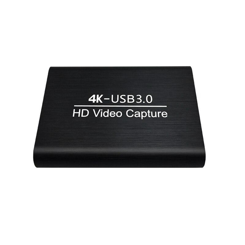 4K/60Hz USB3.0 HDMI HD بطاقة التقاط الفيديو HD فيديو 1080P صندوق تسجيل