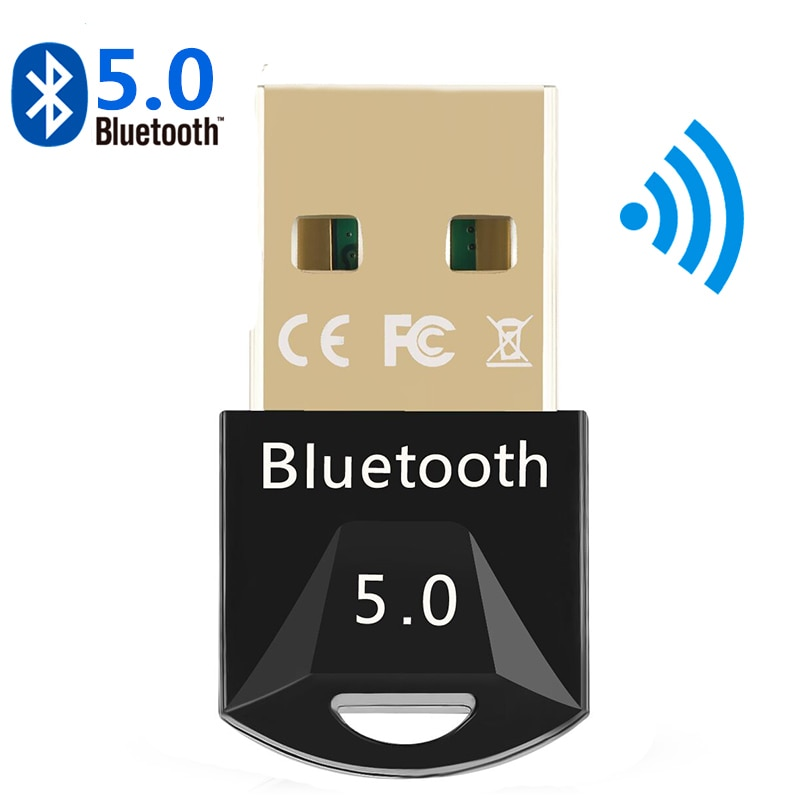 USB Bluetooth 5.0 Bluetooth Adapter Receiver 5.0 Bluetooth Dongle 5.0 4.0 Adapter for PC Laptop 5.0 BT Transmitter