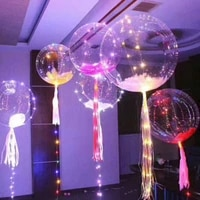 10pcs transparent clear bobo balloons marriage wedding party birthday decor no wrinkle bobo clear pvc inflatable balls