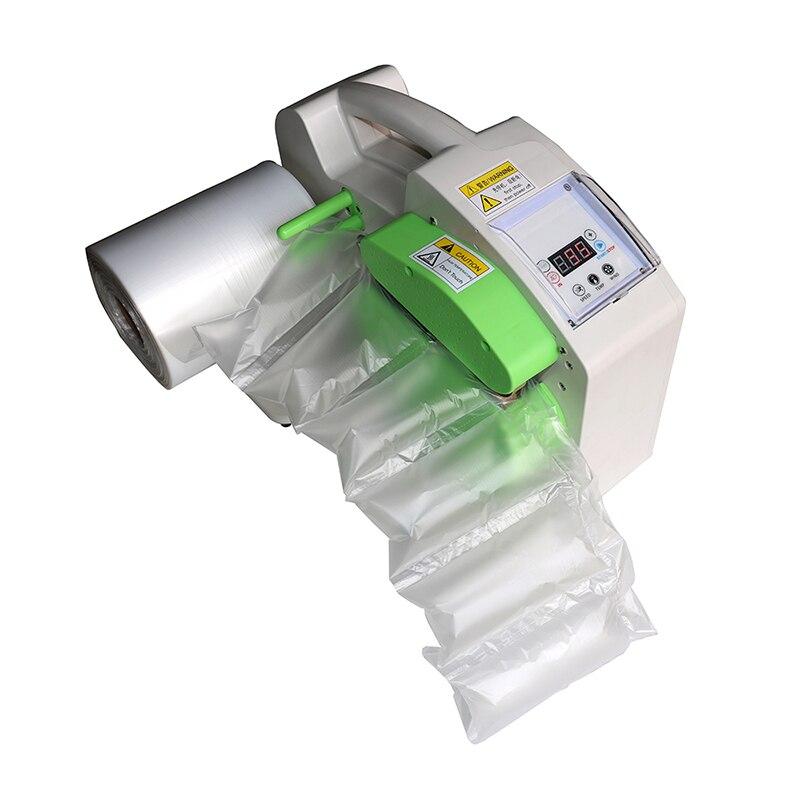 CE جهاز وسائد هوائية نفخ وسادة فقاعة FiIm التفاف عازلة نافخة التعبئة والتغليف آلة حقائب الهواء التعبئة ماكينة صنع الفيلم
