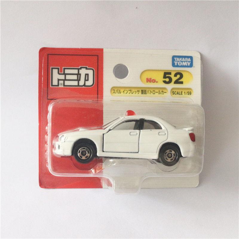 TAKARA TOMY No.52, полицейский автомобиль Subaru, полицейский автомобиль, игрушечный автомобиль
