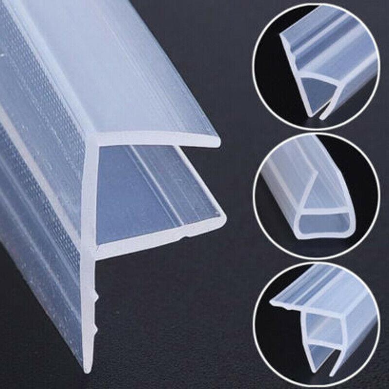 Уплотнительная лента для стекла в форме h/F/U, силиконовая резина для остекления дверей и дверей ванны, душа, стекла 6/8/10/12 мм