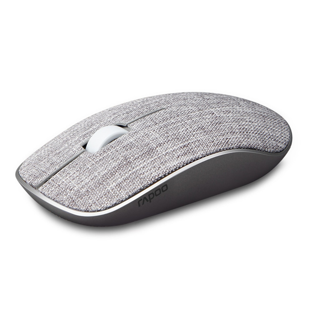 3500Plus Fabric Optical Wireless Mouse USB Gaming Mice with Soft Fabric Cover Super Slim Portable For Laptop Computer