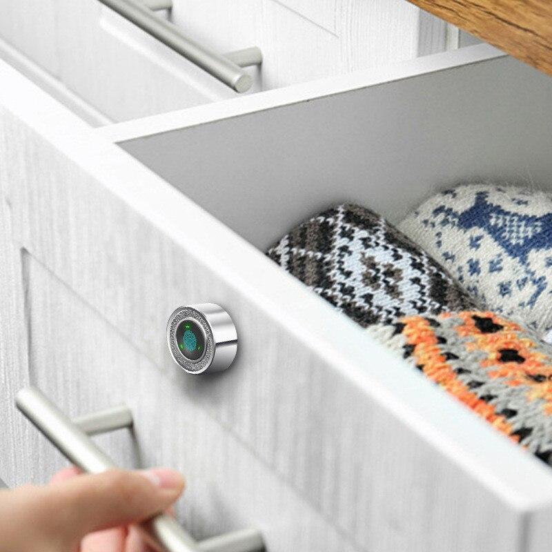 12 قطعة قفل ببصمة الأصبع الذكية USB شحن درج خزانة مكتب صندوق البريد قفل كامة سبائك الزنك البيومترية بصمة قفل