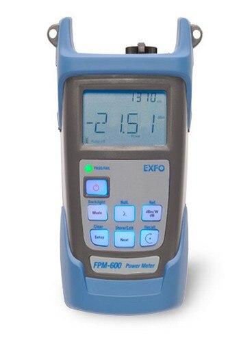 ¡Envío gratis! Medidor de potencia óptica EXFO Original FPM-600 (FPM-602 FPM-602X) capacidad de memoria de 40 longitudes de onda de 1000 elementos de datos