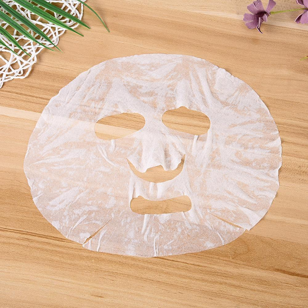 Ultra-Thin Essential Oil Disposable Compression Mask DIY Masks Paper Sheet Wrapped Cotton Face Skin Care