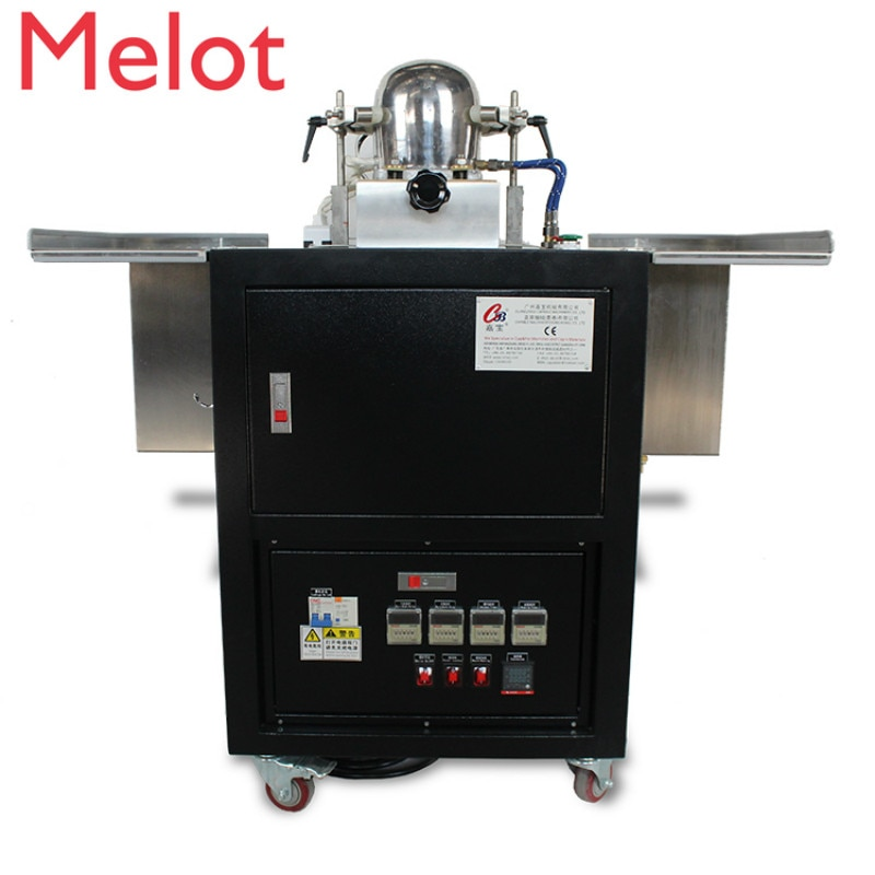 hot sale Automatic cap ironing machine with boiler/cap blocking machine/cap steamer machine