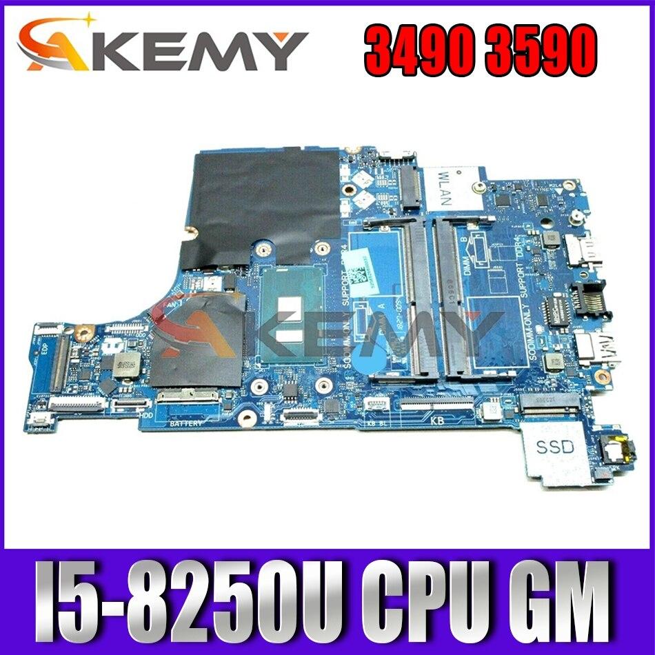 العلامة التجارية جديد I5-8250U لديل خط العرض 3490 3590 اللوحة المحمول CAL50 DAL10 LA-F115P CN-03HVXC 3HVXC اللوحة 100% اختبار