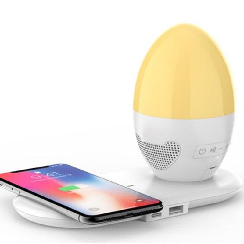 Portable bluetooth speakerBluetooth speaker mini smart small speaker touch night light bluetooth speaker  speakers enlarge