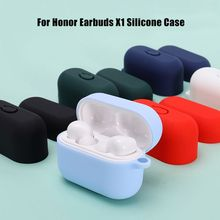 For Honor Earbuds X1  Case Protective Silicone Cover Shockproof Earpods Case for Honor Case Soft Thi
