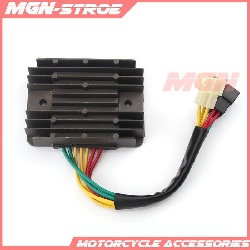 De Metal para motocicleta regulador de tensión regulador rectificador para Ducati Monster 620, 696, 695, 750, 600, 800, 900 Hypermotard 1100