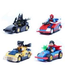 QuinJet Batmobile Motobike  Avengers Super Heroes Batman Superman Iron Man Spider-man SY184 SY181