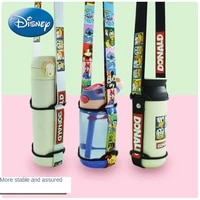 disney mickey mouse minnie universal insulation water cup bottle lanyard childrens water bottle cup cover diagonal back hose
