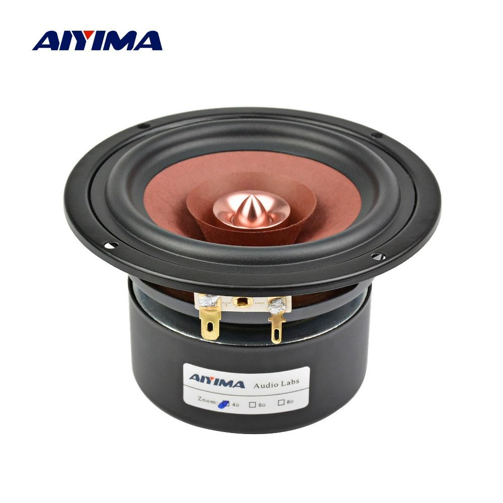 AIYIMA-Altavoz de gama completa para cine en casa, Altavoz HIFI de 4...