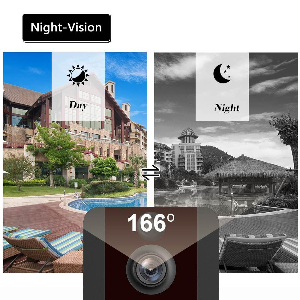 V7 Smart Doorbell Camera IP 1080P Phone Door Bell Apartments IR Alarm Wireless Security Intercom WIFI Doorbell Video From eken enlarge