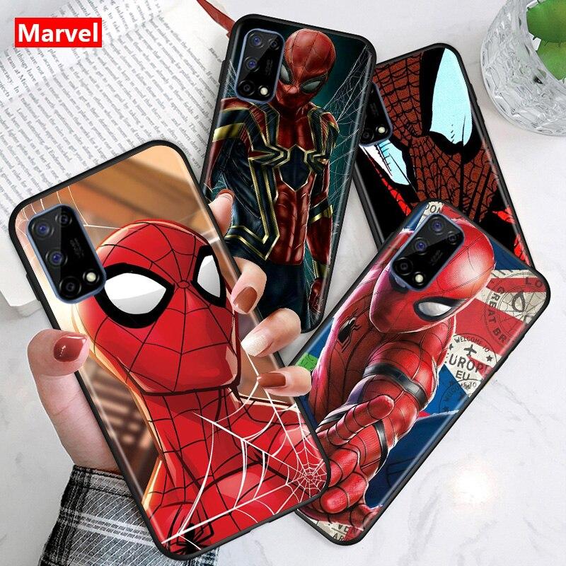 funda-de-silicona-tpu-para-telefono-movil-huawei-carcasa-de-superheroe-de-los-vengadores-de-marvel-spider-man-honor-v30-30s-30i-30-20e-20i-20s-20-lite-pro-plus-color-negro