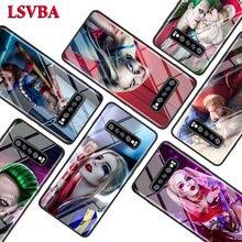 Joker et Harley Quinn pour Samsung Galaxy Note 10 9 8 Pro S10e S10 5G S9 S8 S7 Plus Super brillant housse de téléphone