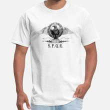 Printed Roman Eagle With SPQR Sign t shirt men summer casual cotton women tshirt cotton XXXL 4Xl 5XL outfit