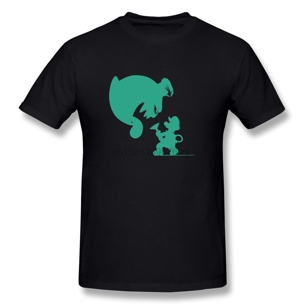 Camiseta de Luna oscura para hombre, camiseta de Luigi Mansion Diy