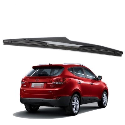 "Para Hyundai IX35 / Tucson 2009 2010 2011 2012 2013 2014 12 ""limpiaparabrisas de goma para ventana trasera limpiaparabrisas"