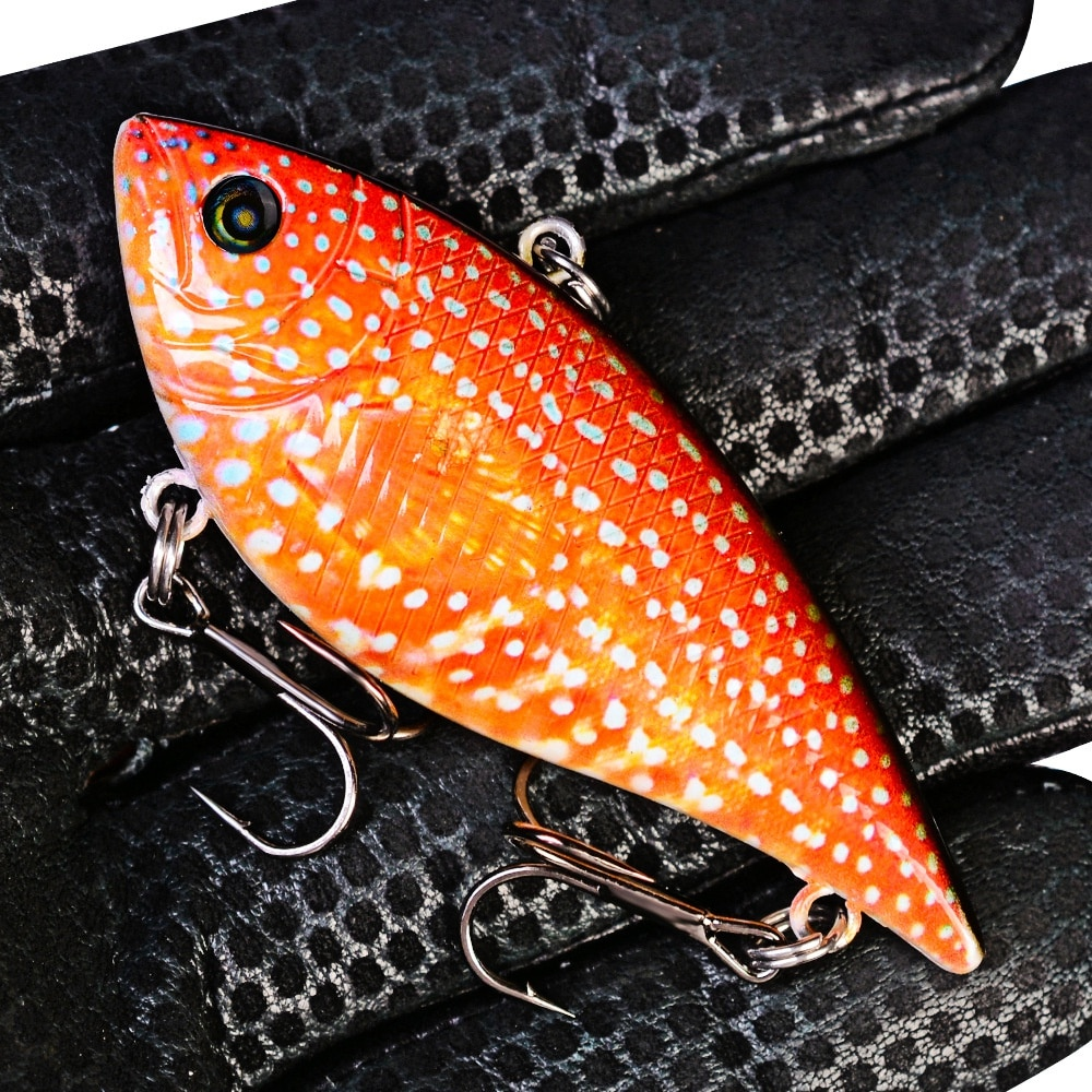 VIB Lures 6.95cm/12g Vibrations Spoon Lure Fishing bait Bass artificial lure vib