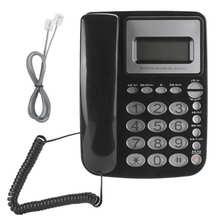 Классический телефонный кабель AEQ96761 с кристальной кнопкой, настольный телефон DTMF/FSK для дома, офиса, мини телефон, телефон fijo