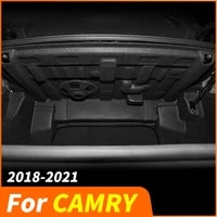 trunk sound insulation cotton rear trunk spare tire for toyota camry 8th xv70 2018 2019 2020 2021 car accessories refit