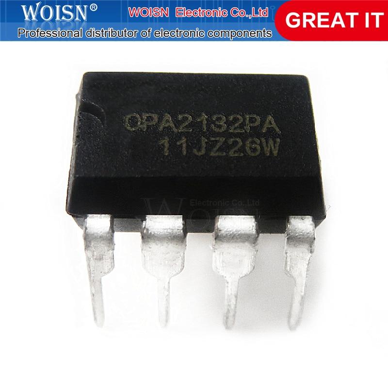 1 adet/grup OPA2132PA OPA2132 2132PA DIP8 stokta