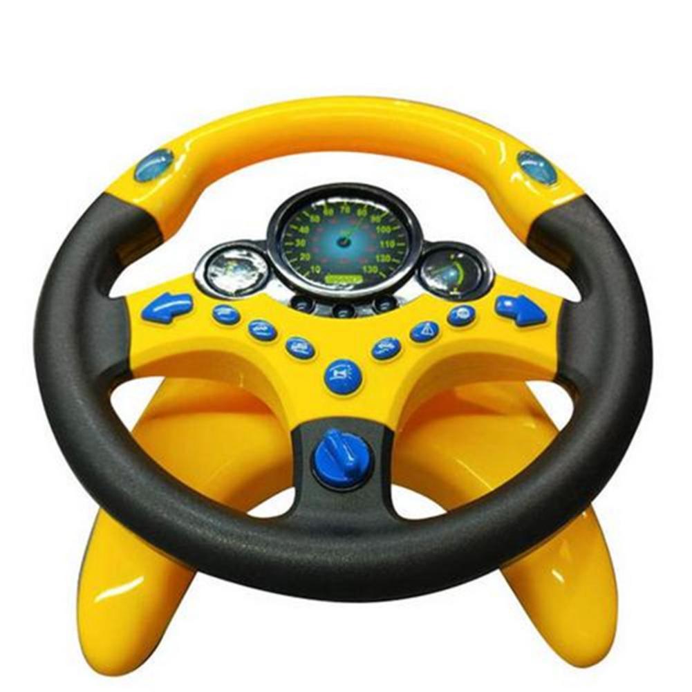 Новинка, детский игрушечный маленький игрушечный руль с имитацией рулевого колеса, Рождественский игрушечный автомобиль, аксессуары