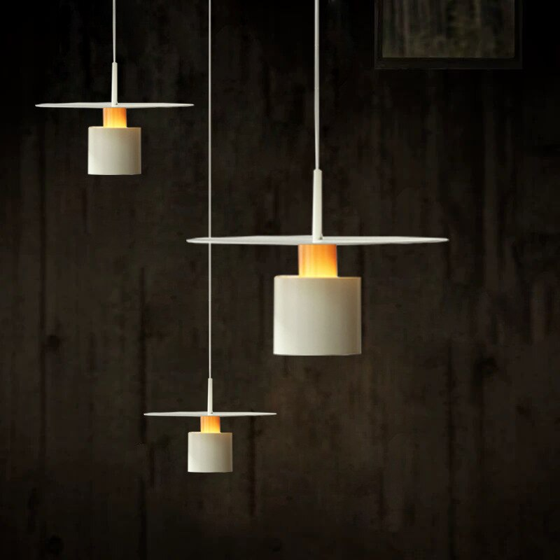 Modern Pendant Lights Nordic Designer Minimalist Iron Led Hanging Lamps Living Room Decor Restaurant Bedroom Bedside Chandeliers