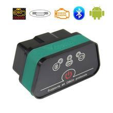 Оригинальный сканер Vgate iCar2 OBD2 Elm327 Bluetooth OBDII Автомобильные диагностические инструменты iCar 2 Elm 327 OBD 2 автоматическое сканирование для Android ПК