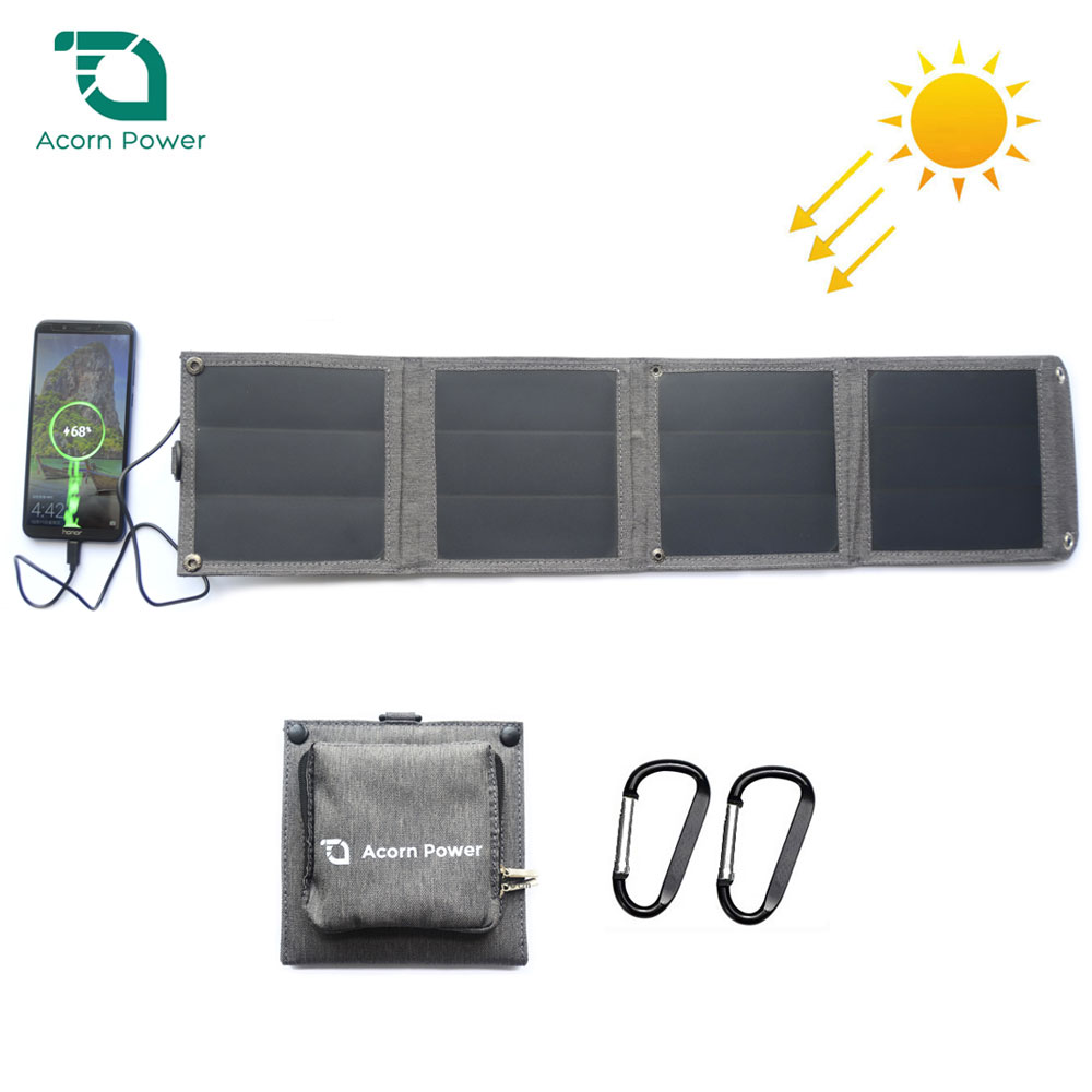 5V14W10W Solar Panel Charger Portable Purse Size Charge for iPhone iPad Samsung Huawei Xiaomi Sony LG OnePlus OPPO Vivo Nokia.