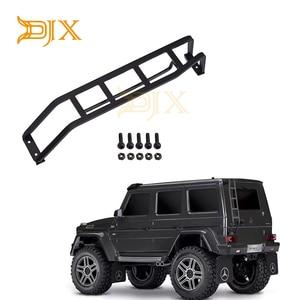 DJX Metal Rear Ladder Staircase for 1/10 RC Crawler Car TRAXXAS TRX-4 G500 G63 Defender Chevrolet K5 D90 JEEP SCX10 II