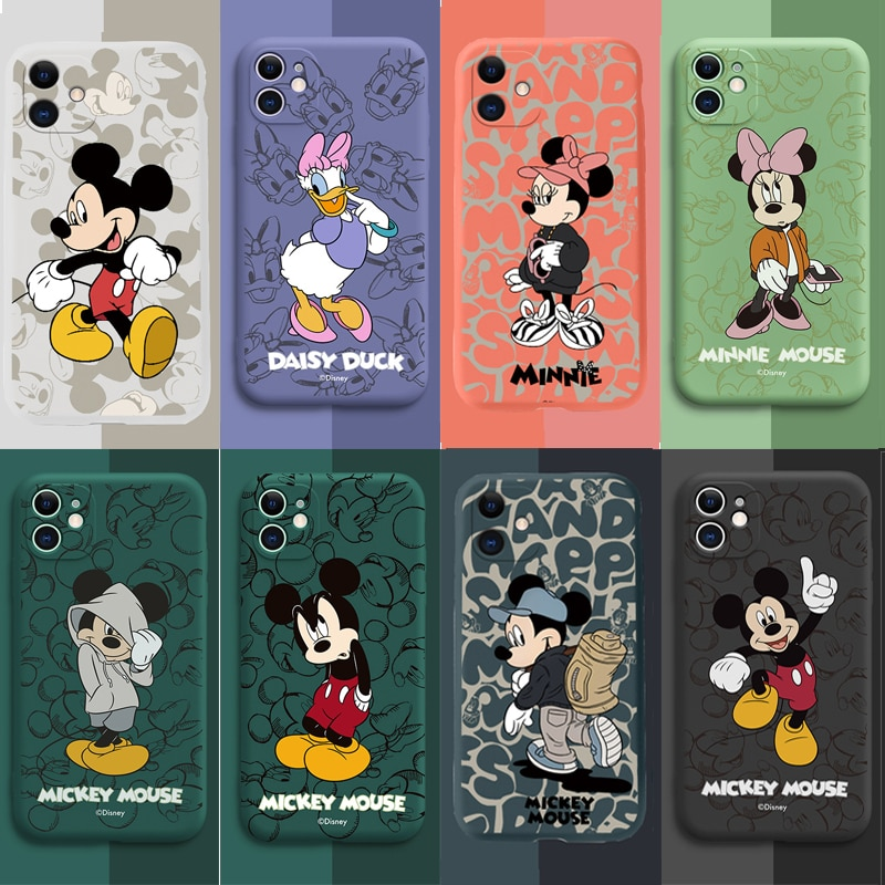 Disney Mickey Mouse Minnie Iphone 12 IPhone 11 Case Cover