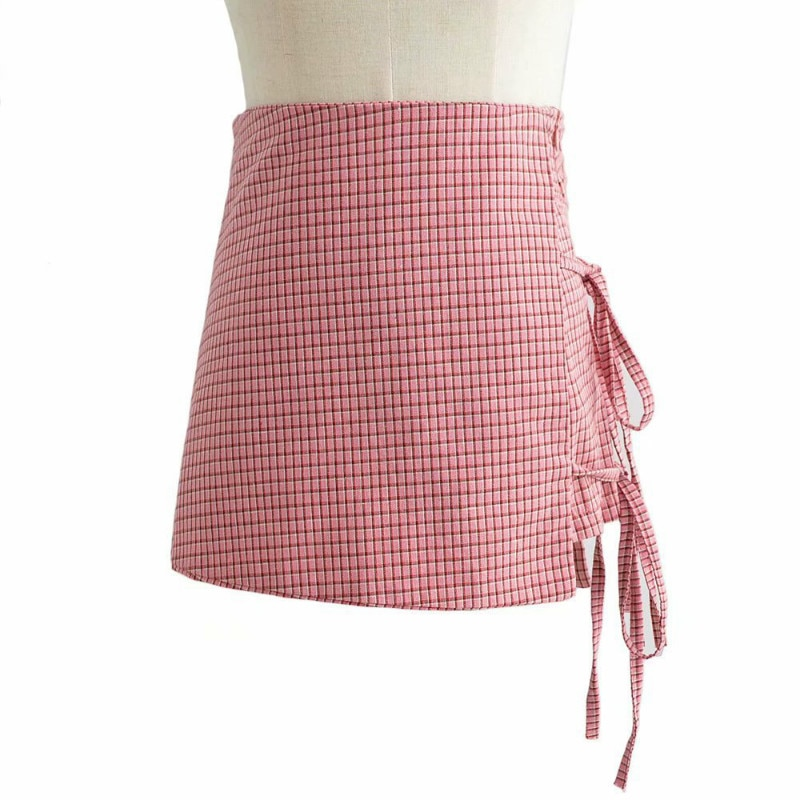 Falda acampanada irregular de encaje acampanada faldas cortas femeninas de Anime plisowana spodnica saia falda jupe plissee femme