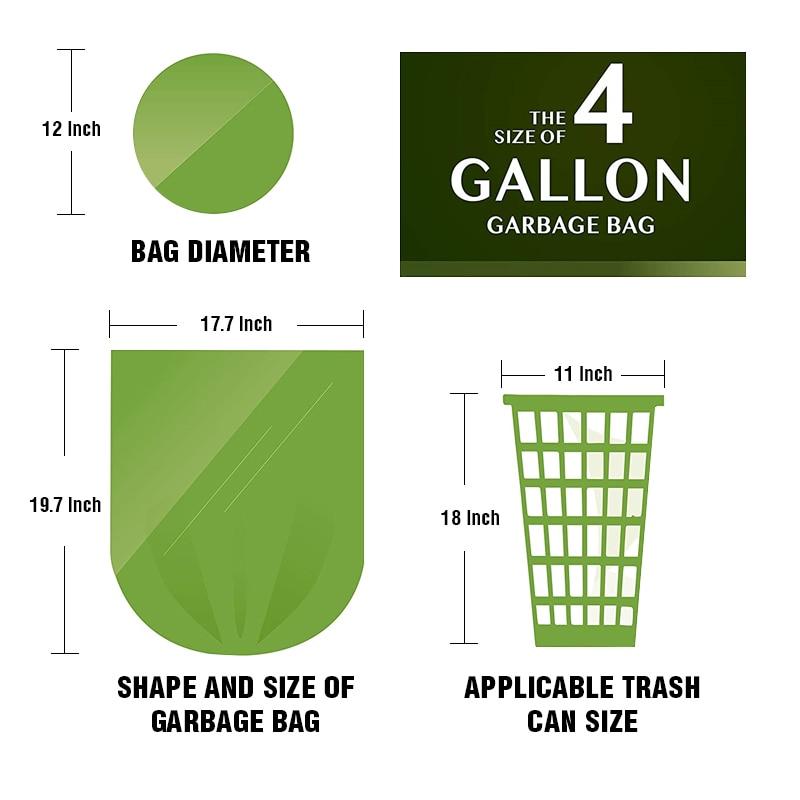 100pcs/Lot Kitchen Garbage Bag Zero Waste Trash Bags Plastic Garbage Bags Rubbish Bags Kitchen Trash Bag Vomit Bag enlarge