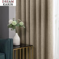 modern blackout curtains for living room bedroom curtains for window solid color blackout cortinas treatment finished custom