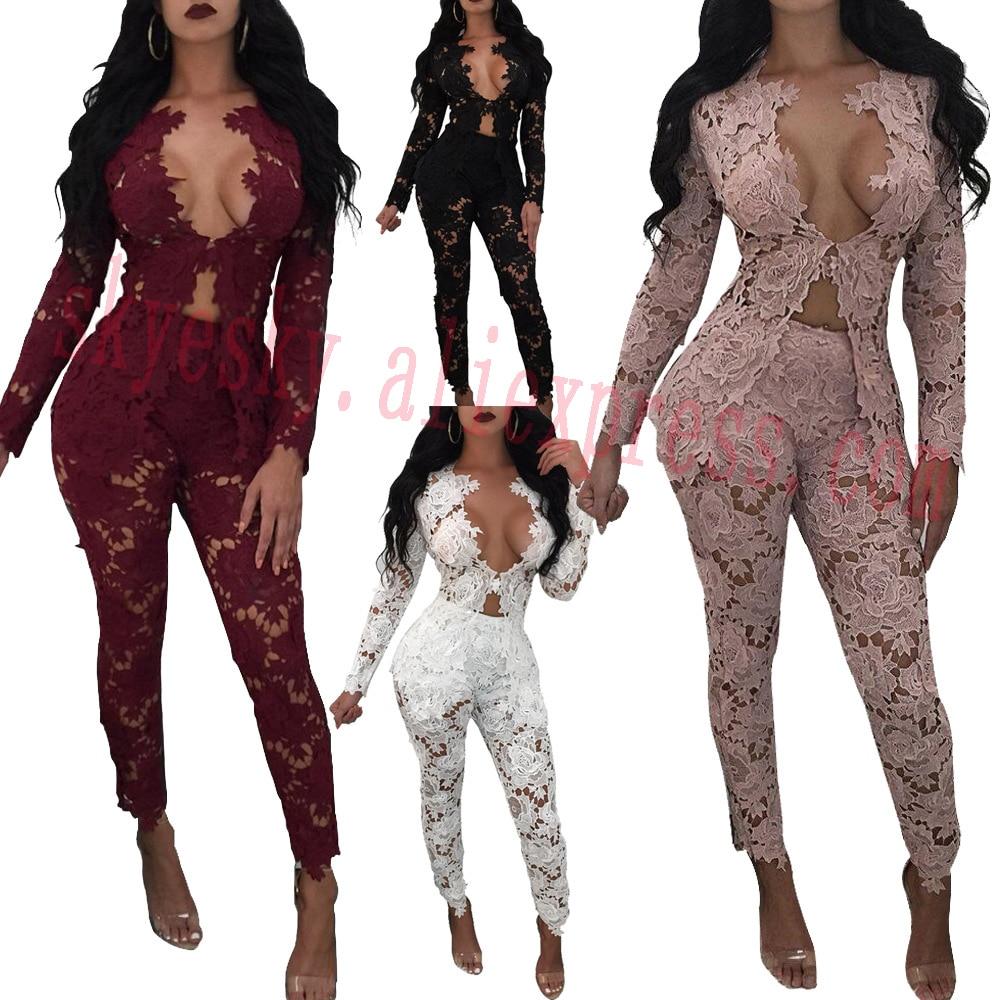 lace suit women summer clothing set outfit 2 pieces fashion blazer pants suit women suits long pants girl sexy