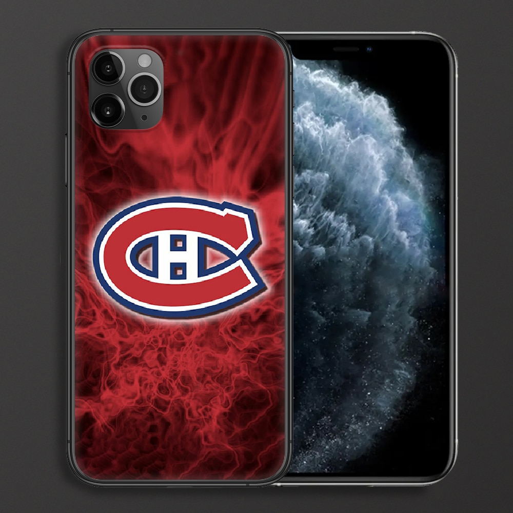 Montreal Ice Hockey Canadien Phone Case For iPhone 4 4s 5 5S SE 5C 6 6S 7 8 Plus X XS XR 11 12 Mini Pro Max 2020 black Cell  - buy with discount